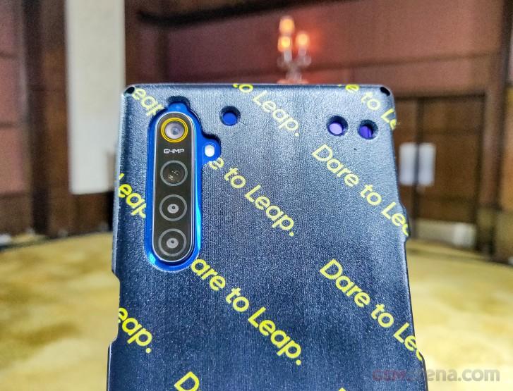 Realme 64MP Quad Camera Setup Hands-On
