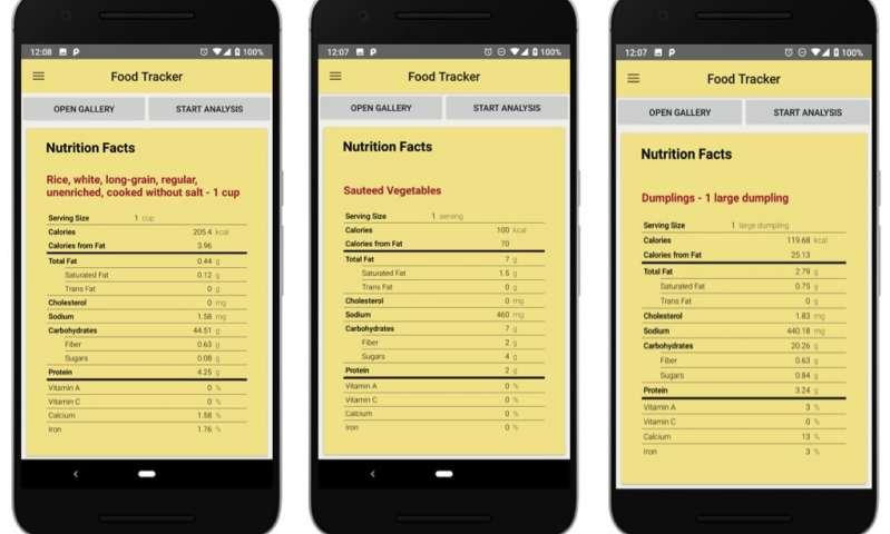FoodTracker: une application mobile de détection d'aliments alimentée par l'IA