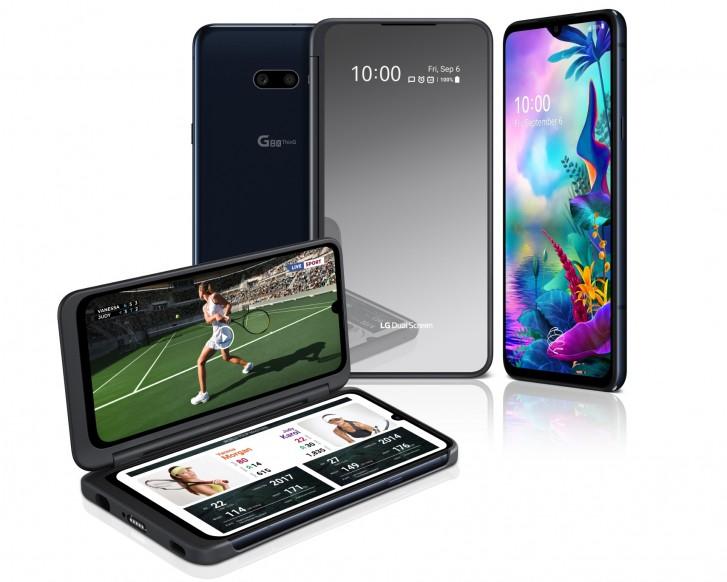 Le LG G8X ThinQ est une actualisation mineure, un DualScreen mis à jour le rejoint