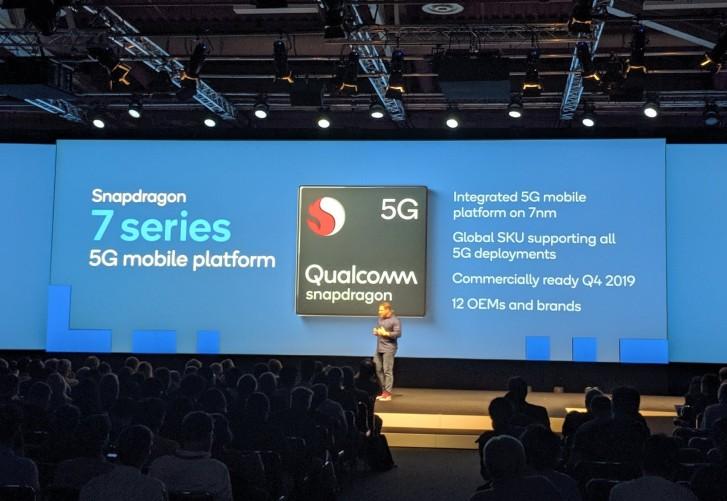 Qualcomm travaille sur les chipsets 5G Snapdragon séries 6 et 7 pour 2020