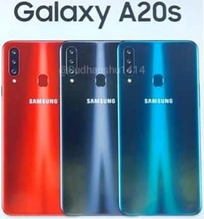 La fuite du Samsung Galaxy A20s montre une triple came à l'arrière, certaines dégradations également