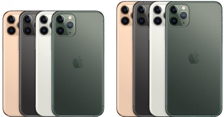 Les iPhone 11 Pro et 11 Pro Max d'Apple disposent de trois appareils photo 12MP et de nouveaux écrans Super Retina