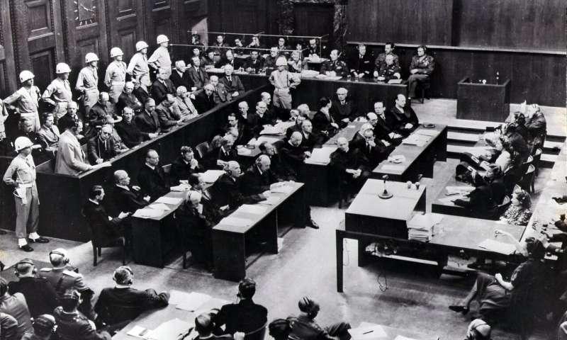 Le public aura accès aux enregistrements numériques des procès de Nuremberg