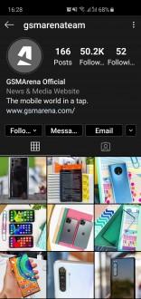 Dark Mode sur Instagram pour Android