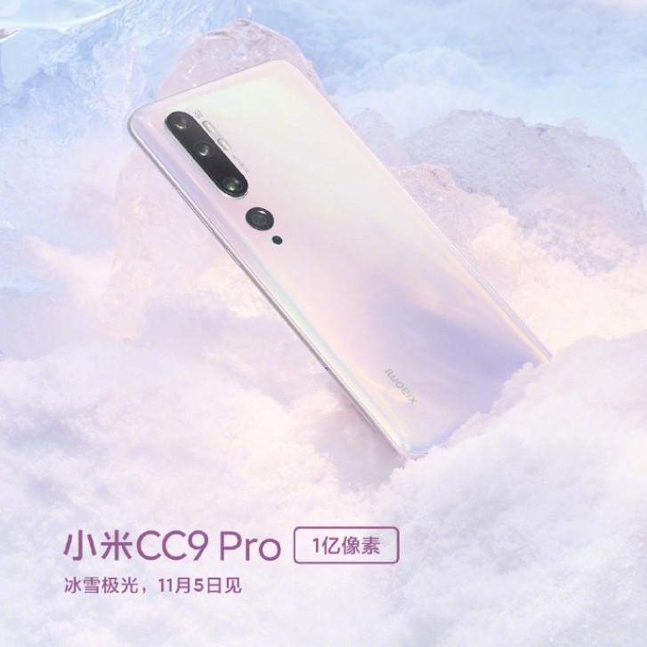 Xiaomi Mi CC9 Pro pour arriver avec une entaille de goutte d'eau et des bords incurvés de l'écran