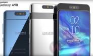 Surface du Samsung Galaxy A90: écran de 6,7 pouces et appareil photo 48MP