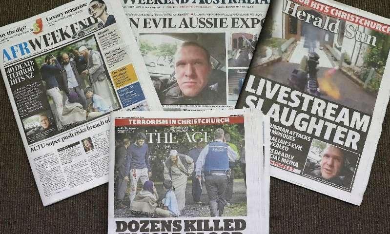L'attaque meurtrière de la mosquée en Nouvelle-Zélande diffusée en direct dans le monde entier a suscité des inquiétudes quant à la responsabilité du