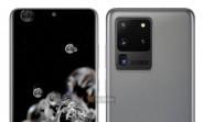 Samsung Galaxy S20 d'aspect officiel rend la fuite, le Galaxy S20 Ultra peut commencer à 1349 €