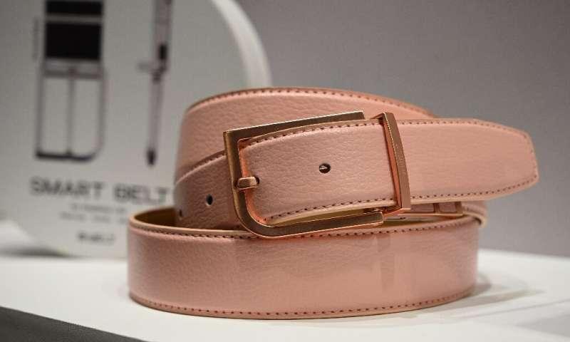 La ceinture intelligente Welt, avec évaluation des risques de chute, est présentée au Consumer Electronics Show 2020