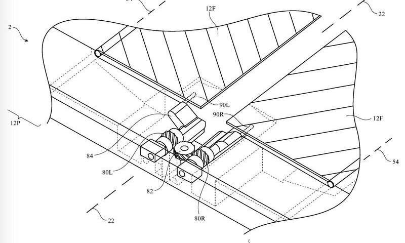 Discussion sur les brevets: Apple pliable sans plis suscite l'espoir d'un nouveau téléphone