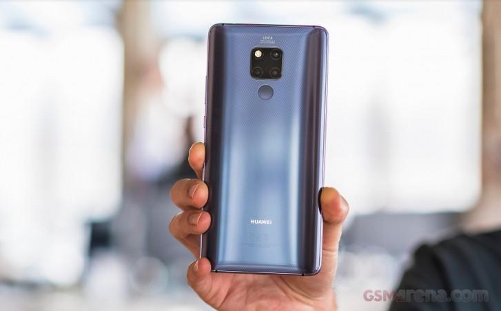 Huawei Mate 20 X classé parmi les 20 premiers dans l'évaluation DxOMark