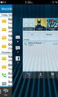 Aperçu du Blackberry Z10