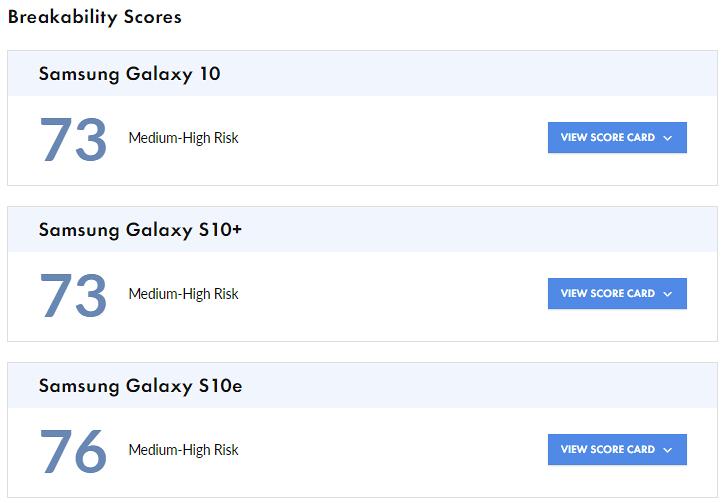 Le Galaxy S20 est plus sujet à la rupture que le S20 + et le S20 Ultra montre le test de cassabilité SquareTest