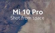 Xiaomi a lancé la caméra 108MP du Mi 10 Pro dans l'espace dans sa dernière annonce