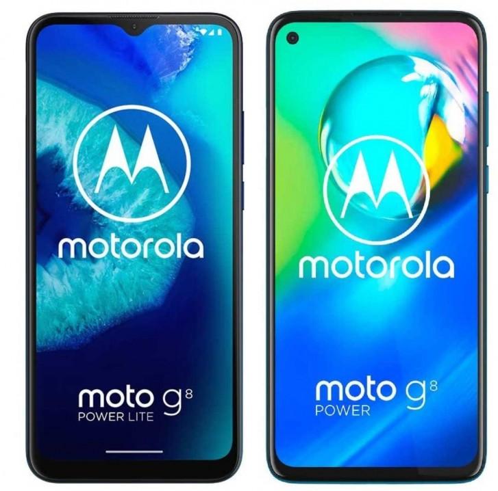 Prix et disponibilité du Motorola Moto G8 Power Lite en ligne, avec plus d'images