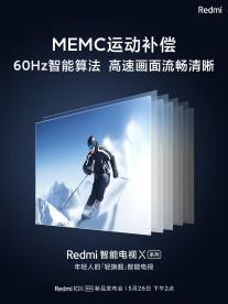 Teasers TV Redmi X