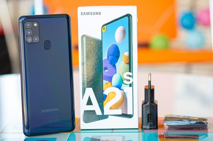Test du Samsung Galaxy A21s