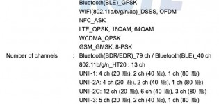 Samsung SM-M515F sur FCC