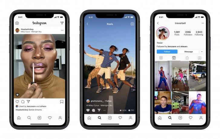 Instagram lance officiellement Reels pour tenter de détruire TikTok