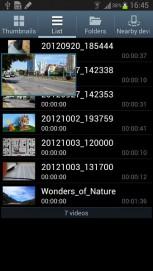 Air View vous a permis de survoler des éléments pour obtenir un aperçu