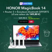 Honor MagicBook 14 bundle pour la France