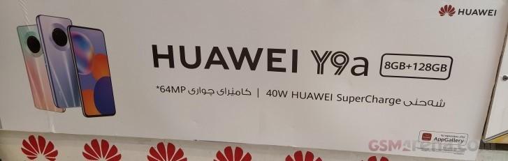 Huawei Y9a apparaît dans des bannières avec des spécifications clés