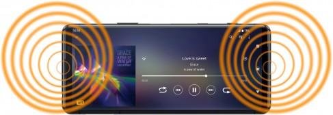 Points forts de l'écran du Sony Xperia 5 II