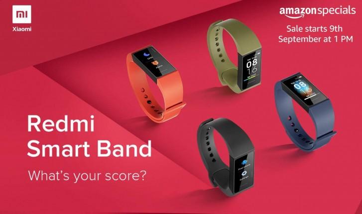 Redmi Smart Band arrive en Inde le 9 septembre pour 1599 INR