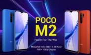 Poco M2 arrive avec Helio G80, 6.53
