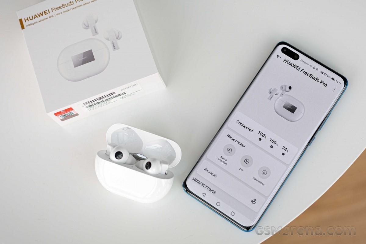 Examen des écouteurs Huawei Freebuds Pro