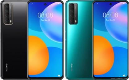 Huawei P Smart 2021 en noir, vert et dégradé