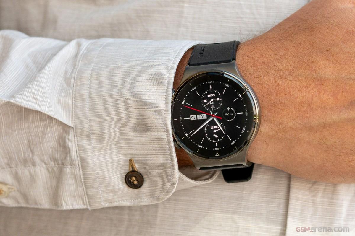 Test de la Huawei Watch GT2 Pro
