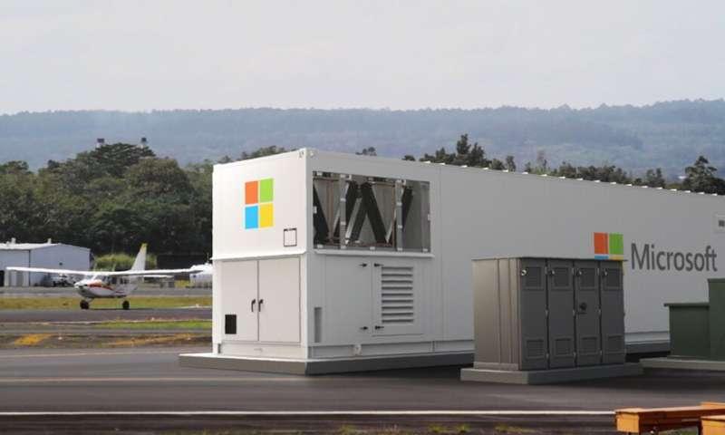 Microsoft lance un centre de données portable pour apporter le cloud computing aux environnements distants