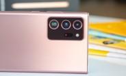La caméra du Galaxy Note20 Ultra voit peu d'amour dans la revue DxOMark