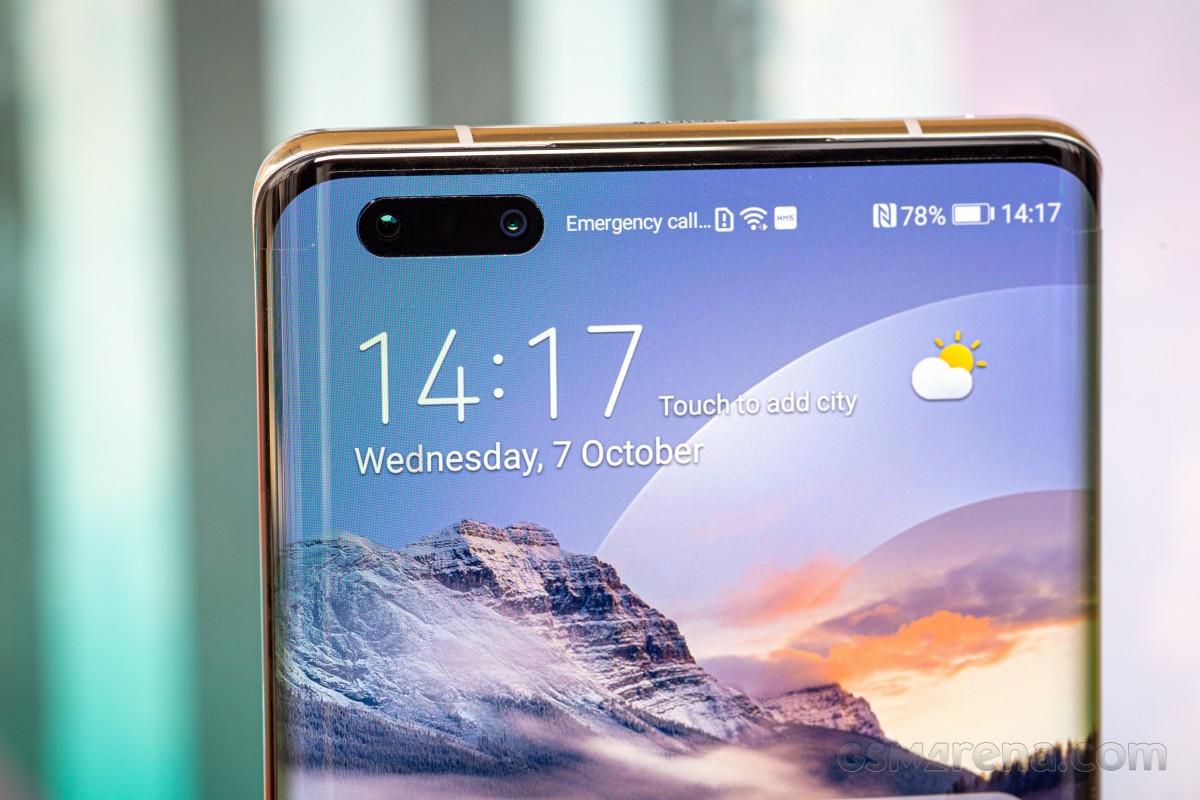 Huawei Mate 40 Pro en tête des classements DxOMark pour les caméras avant et arrière