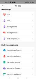 L'application Android d'Amazfit a besoin d'une refonte de la conception