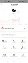 Surveillance de la fréquence cardiaque sur Amazfit Neo