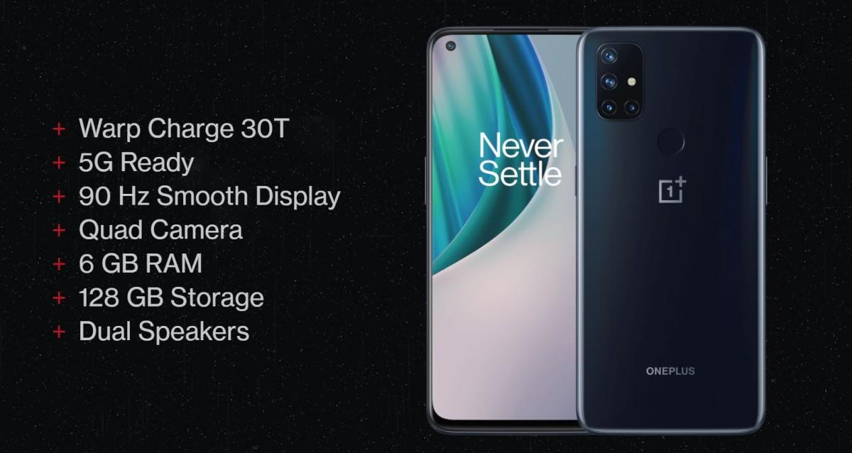 OnePlus Nord N10 5G et N100 dévoilés: des mid-rangers avec LCD et chipsets Snapdragon