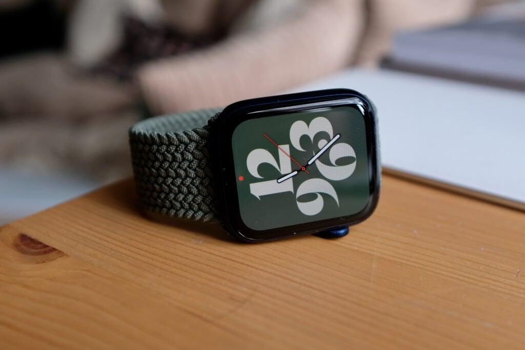 Apple Watch 6 visage
