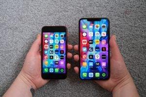 iPhone SE 2 contre iPhone 11 Pro Max
