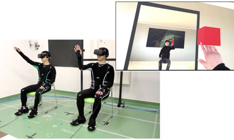 Partage simultané d'un corps d'avatar par deux individus en réalité virtuelle