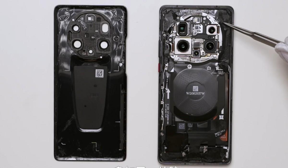 Le démontage du Huawei Mate 40 RS révèle une puce mémoire auto-développée