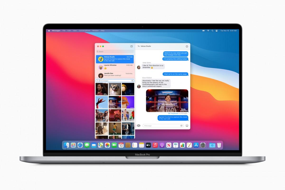 macOS Big Sur est maintenant disponible