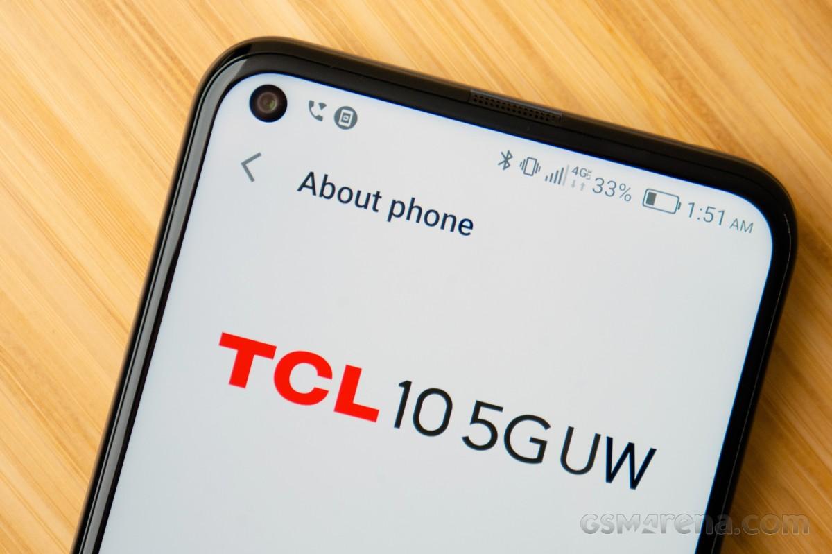 TCL 10 5g Uw Hands On avec 5g examen
