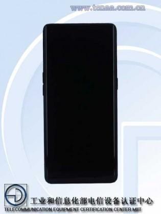 Images Oppo Reno5 Pro 5G publiées sur le site Web de TENAA