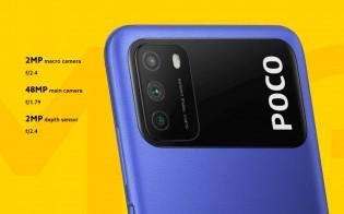 Deux des meilleures caractéristiques du Poco M3 sont la batterie de 6000 mAh et la caméra principale de 48 MP