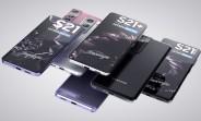 Les Samsung Galaxy S21, S21 + et S21 Ultra apparaissent dans de beaux rendus de haute qualité