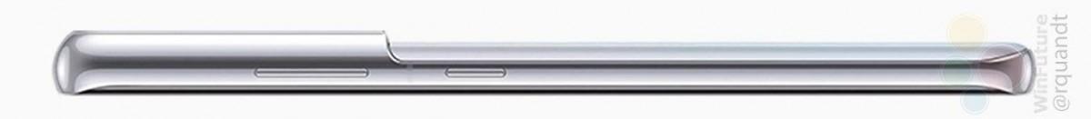 Le cadre et la caméra du Galaxy S21 Ultra bosse de côté