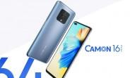 Tecno présente les Camon 16, 16 Pro et 16 Premier