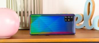 Test du Samsung Galaxy A71